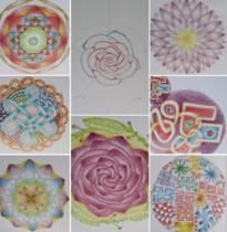 Workshop : Intuïtief Mandala's maken –  3 Juli 2021 – gegeven door Ludy v/d Reep